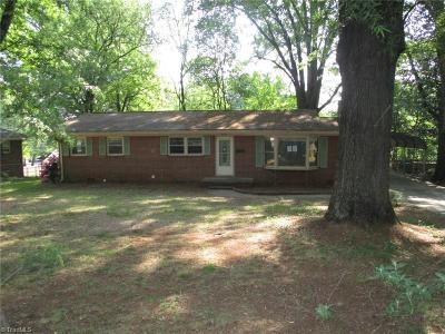 Rockingham County Single Family Home For Sale: 614 Highland Park Drive