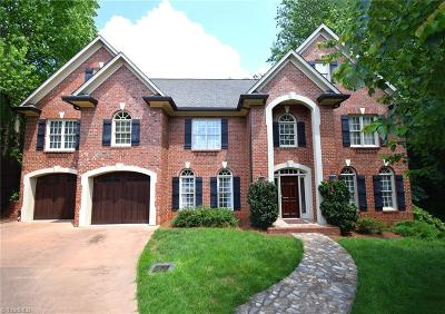 Winston Salem NC Single Family Home For Sale: $749,000