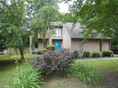 Winston Salem Single Family Home For Sale: 5078 Cobblestone Road