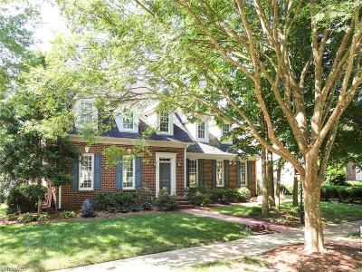 Greensboro Single Family Home For Sale: 5214 Bodie Lane