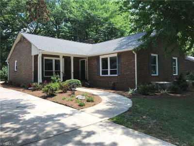 Winston Salem Single Family Home For Sale: 839 N Avalon Road
