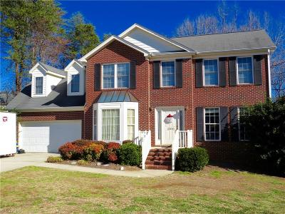 Reidsville Single Family Home For Sale: 1300 Merlin Circle
