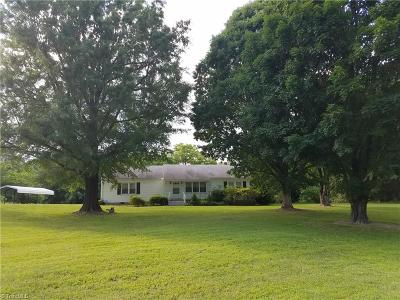 Reidsville Single Family Home Due Diligence Period: 2551 Moir Mill Road