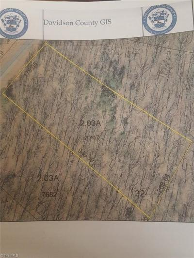 Denton NC Residential Lots & Land For Sale: $18,000