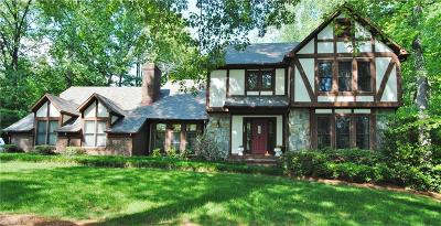 Mocksville Single Family Home For Sale: 147 Lakeview Road