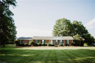 Alamance County Single Family Home Due Diligence Period: 1815 Altamahaw Union Ridge Road