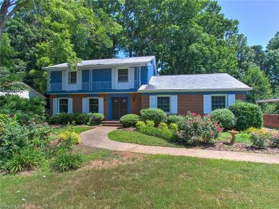 Greensboro Single Family Home For Sale: 2100 Red Forest Road