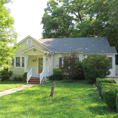 Reidsville Single Family Home For Sale: 718 Summit Avenue