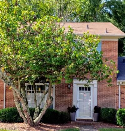 Greensboro Condo/Townhouse For Sale: 4931 Tower Road #D