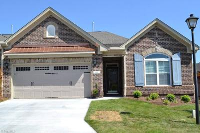 Winston Salem Condo/Townhouse For Sale: 601 Fortress Court #Lot 311