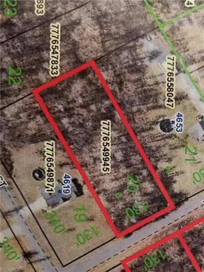 Randleman Residential Lots & Land Due Diligence Period: 20 Plantation Manor Drive