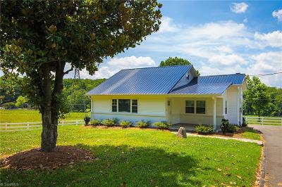 Winston Salem Single Family Home For Sale: 4158 Thomasville Road