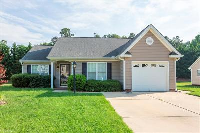 Gibsonville Single Family Home Due Diligence Period: 208 Cypress Court