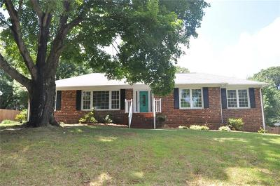 Winston Salem Single Family Home For Sale: 1008 Kendale Drive