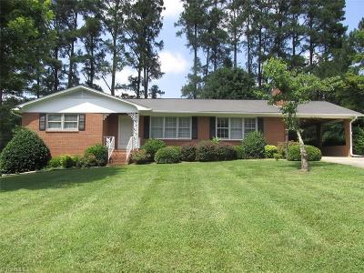 Mocksville NC Single Family Home For Sale: $149,900