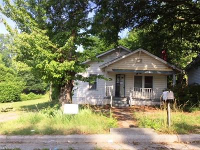 High Point NC Single Family Home For Sale: $23,000