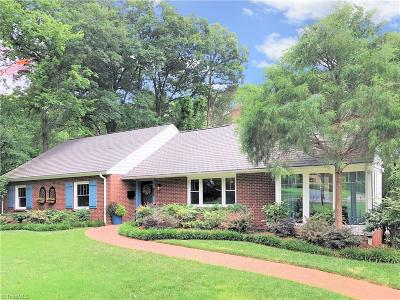 Winston Salem Single Family Home For Sale: 927 Stratford Road