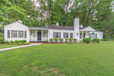 Guilford County Single Family Home For Sale: 1101 Brookside Drive