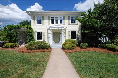 Winston Salem Single Family Home For Sale: 21 Park Boulevard
