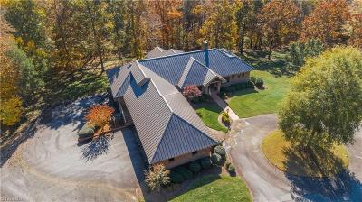 Winston Salem Single Family Home For Sale: 1200 Clodfelter Road