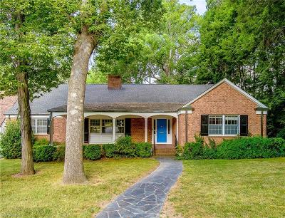 High Point Single Family Home For Sale: 1309 Woodland Place