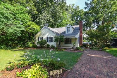Lindley Park Single Family Home For Sale: 3122 Collier Drive