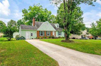 Guilford County Single Family Home For Sale: 1112 Perkins Street