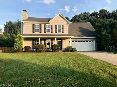 Guilford County Single Family Home For Sale: 1606 Glenn Meade Drive