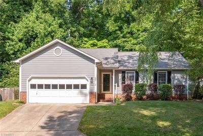 Guilford County Single Family Home For Sale: 4710 Pine Hollow Lane