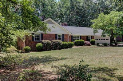 Reidsville Single Family Home For Sale: 1101 Cypress Drive