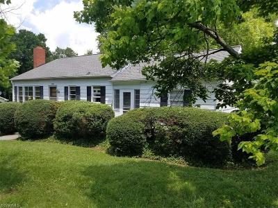 High Point NC Single Family Home For Sale: $69,500