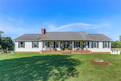 Reidsville Single Family Home For Sale: 1302 Crutchfield Road