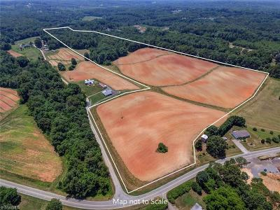 Residential Lots & Land For Sale: 50+/- Acres Bowman Road