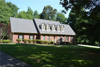 Pleasant Garden Single Family Home For Sale: 5400 Brekenwood Road