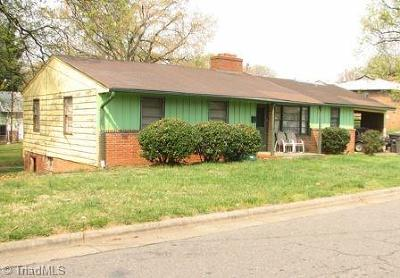 Winston Salem Single Family Home For Sale: 2050 Lincoln Avenue