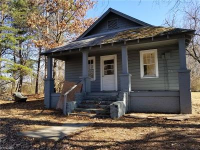 Winston Salem Single Family Home For Sale: 4235 Whitfield Road