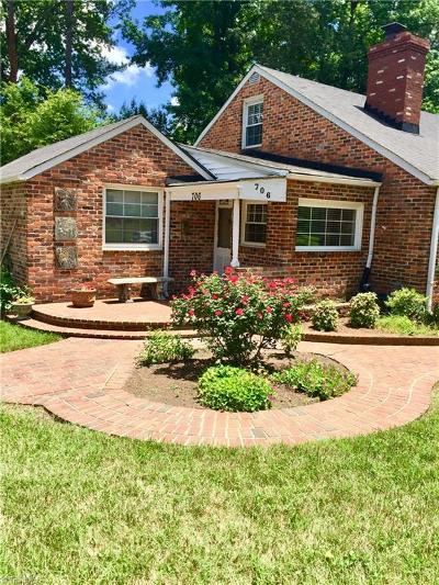 Greensboro Single Family Home For Sale: 706 Westover Terrace