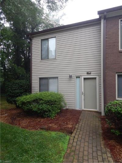 Winston Salem Condo/Townhouse For Sale: 187 Forest View Drive