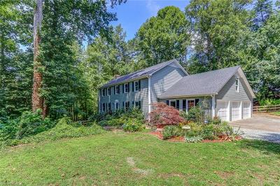 Guilford County Single Family Home For Sale: 7012 Ridge Haven Road