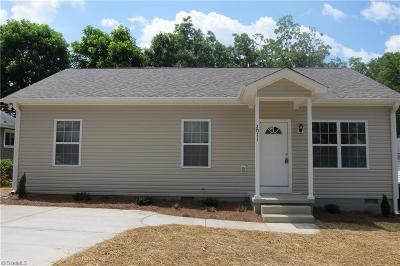 Greensboro Single Family Home For Sale: 2011 Pine Bluff Street