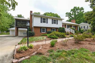 Greensboro Single Family Home For Sale: 3914 Madison Avenue