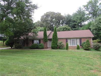 Kernersville Single Family Home Due Diligence Period: 1040 Foothills Drive