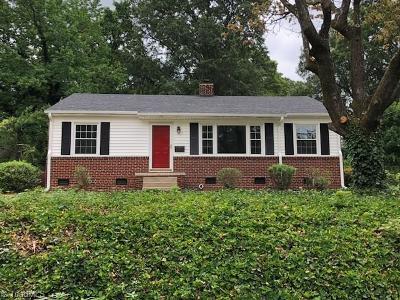 Greensboro NC Single Family Home For Sale: $215,000