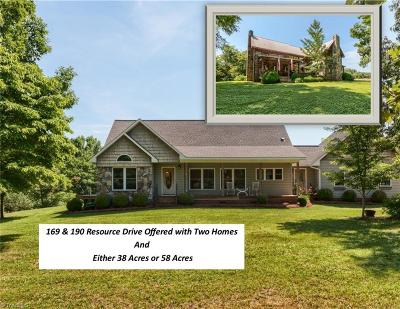 Cleveland NC Single Family Home For Sale: $775,000