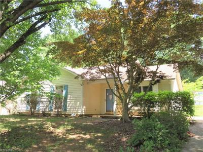 Greensboro NC Single Family Home For Sale: $94,900