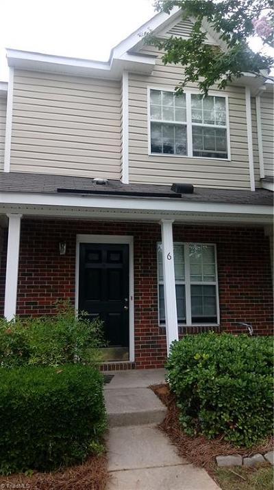 Greensboro Condo/Townhouse For Sale: 6 Raelans Circle