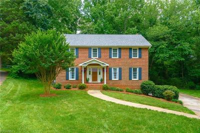 Winston Salem Single Family Home For Sale: 3134 Turkey Hill Court