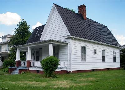 Reidsville NC Single Family Home For Sale: $74,900