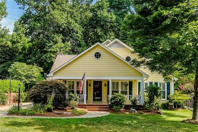 Greensboro Single Family Home For Sale: 1610 Colonial Avenue