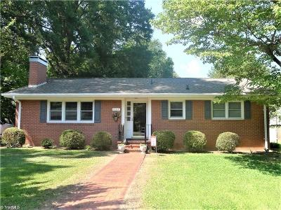 Reidsville NC Single Family Home Due Diligence Period: $119,900